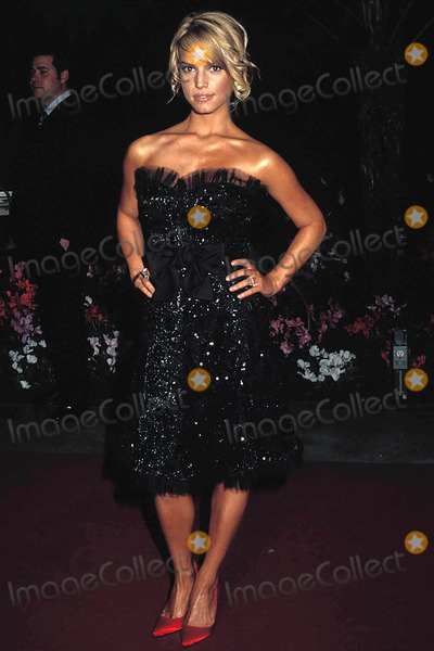 Clive Davis,Jessica Simpson Photo - Archival Pictures - Globe Photos - 54274