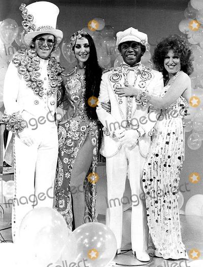 Flip Wilson Photo - Elton John Cher Flip Wilson and Bette Midler 1978 SmpGlobe Photos Inc