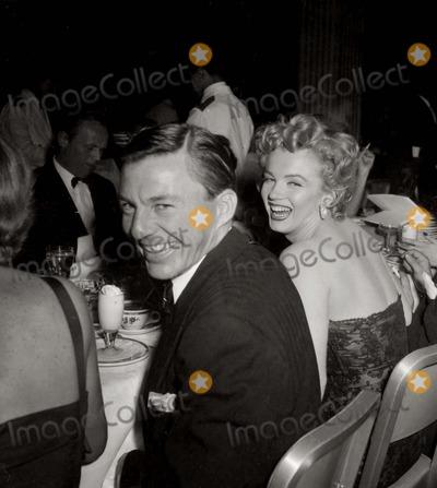 David Wayne,Marilyn Monroe Photos - Marilyn Monroedavid Wayne Photo Nate CutlerGlobe Photos Inc