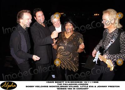 Brian Hyland Photo - Bobby Vee at the Paladium (l-r) Bobby Vee Chris Montez Johnny Preston Little Eva and Brian Hyland