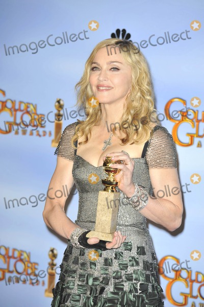 Madonna Photo - The 69th Annual Golden Globes Beverly Hills Press Room