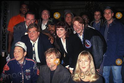 Adam Sadler Photo - Saturday Night Live 09-21-1993 Photo John Barrett-Globe Photos Inc 1993 Rob Schneider Chris Farley Adam Sadler Mike Meyers David Spade Charles Barkley