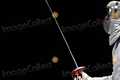 Aldo Montano Photo - Atehns Athens 2004 Olympic Games Fencing Aldo Montano 8202004 Photo Bymarco RosilapresseGlobe Photos Inc 2004 K38883 (Athens Sport - Screens Summer Olympic Games Athens 2004 - Sherma Sciabola Aldo Montano Un Dettaglio Della Sciabola)