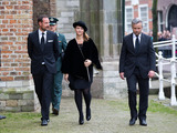 Ari Behn Photo - Prince Haakon and Martha Louise and Ari Behn attending memorial service for Prince Friso in the Oude Kerk (Old Church) in Delft 02112013Credit NieboerPPEface to face- No Rights for Netherlands -