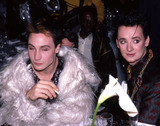 Boy George Photo - Marilyn and Boy George during the taping of the television special Motown Returns to the Apollo Harlem New York May 4 1985Credit McBrideface to face