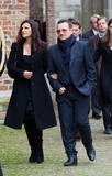 Ali Hewson Photo - Bono (U2) and Ali Hewson attending memorial service for Prince Friso in the Oude Kerk (Old Church) in Delft 02112013Credit NieboerPPEface to face- No Rights for Netherlands -
