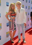 Ross Lynch Photo - 22 June 2015 - Burbank California - Mollee Gray Ross Lynch Arrivals for the Los Angeles premiere of Disneys Teen Beach 2 held at The Walt Disney Studios Photo Credit Birdie ThompsonAdMedia