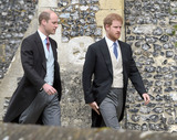 Prince William Photo - 20 May 2017 - Prince William Duke of Cambridge and Prince Harry at the wedding of James Matthews and Pippa Middleton at St Marks Church Englefield Berkshire UK Photo Credit ALPRAdMedia