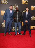 King Mo Photo - 09 April 2016 - Burbank California - Josh Thompson Muhammed King Mo Lawal Matt Mitrione 2016 MTV Movie Awards held at Warner Bros Studios Photo Credit SammiAdMedia