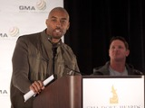 Montell Jordan Photo - February 22 2012 - Atlanta GA - Nominations for the 43rd Annual Gospel Music Association Dove Awards were announced in downtown Atlanta by Jackie Patillo (Exec Dir GMA) comedian Chonda Pierce World Heavyweight Wrestling champion AJ Styles and artists Montell Jordan and Jaime-Grace Photo credit Dan HarrAdMedia