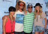 Bob Hurley Photo - 4 August 2011 - Huntington Beach California - Vanessa Hudgens Rob Machado Bob Hurley and Marisa Miller 2011 Hurley Walk The Walk National Championship at the US Open of Surfing held at Huntington Beach Photo Credit Byron PurvisAdMedia
