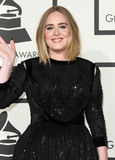 Adele Adkins Photo - 15 February 2016 - Los Angeles California - Adele Adkins Adele 58th Annual GRAMMY Awards held at the Staples Center Photo Credit AdMedia