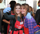 Jen Lilley Photo - 23 November 2016 - Los Angeles California Jen Lilley Deidre Hall  Los Angeles Mission Thanksgiving Meal For The Homeless held at Los Angeles Mission Photo Credit Birdie ThompsonAdMedia
