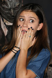 G Hannelius Photo - 1 October 2015 - Buena Park California - G Hannelius Genevieve Hannelius Knotts Scary Farm Black Carpet Event held at Knotts Berry Farm Photo Credit Byron PurvisAdMedia