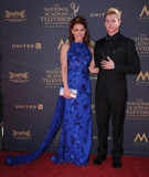 Chad Duell Photo - 30 April 2017 - Pasadena California - Courtney Hope Chad Duell 44th Annual Daytime Emmy Awards held at Pasadena Civic Centerin Pasadena Photo Credit Birdie ThompsonAdMedia