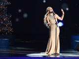 Clare Bowen Photo - 07 November 2013 - Nashville Tennessee - Clare Bowen 2014 CMA Country Christmas Taping held at Bridgestone Arena Photo Credit Laura FarrAdMedia