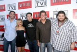 Greg Grunberg Photo - L-R Zachary Levi Hayden Panettiere Greg Grunberg Bob Guiney and Jorge Garcia at Band From TV Presented by Netflix Live The Autry National Center Of The American West Los Angeles CA 08-09-08