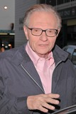 Larry King Photo - Larry King talk show host and personal friend of Marlon Brando at CNN Studios for an appearance on Larry King Live reminiscing about the late actor Marlon Brando Hollywood CA 07-02-04