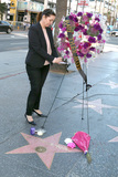 Ana Martinez Photo - LOS ANGELES - JAN 25  Ana Martinez of the Hollywood Chamber of Commerce signs card on memorial wreath laid on the Hollywood Walk of Fame Star for Mary Tyler Moore on January 25 2017 in Los Angeles CA