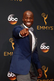 Akbar Gbaja-Biamila Photo - LOS ANGELES - SEP 18  Akbar Gbaja-Biamila at the 2016 Primetime Emmy Awards - Arrivals at the Microsoft Theater on September 18 2016 in Los Angeles CA