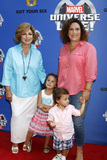 Angelica Maria Photo - LOS ANGELES - JUL 8  Angelica Maria Angelica Vale Children at the Marvel Universe Live Red Carpet at the Staples Center on July 8 2017 in Los Angeles CA