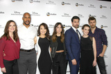 Henri Simmons Photo - LOS ANGELES - MAY 17  Hayley Atwell Henry Simmons Ming-Na Wen Chloe Bennett Brett Dalton Elizabeth Henstridge Luke Mitchell at the ABC International Upfronts 2015 at the Disney Studios on May 17 2015 in Burbank CA