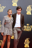 Amandla Stenberg Photo - LOS ANGELES - MAY 7  Amandla Stenberg Nick Robinson at the MTV Movie and Television Awards on the Shrine Auditorium on May 7 2017 in Los Angeles CA