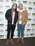 Dale Earnhardt Jr Photo - BALA CYNWYD PA - MARCH 24 (L to R) Daniel Zott and Joshua Epstein of American Indie Pop Band Dale Earnhardt Jr Jr Pose at Radio 1045s Performance Theatre on March 24 2014 in Bala Cynwyd Pennsylvania (Photo by Paul J FroggattFamousPix)