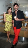 Karina Smirnoff Photo - Photo by Dennis Van Tinestarmaxinccom2013ALL RIGHTS RESERVEDTelephoneFax (212) 995-119671613Karina Smirnoff and Maksim Chmerkovskiy at a promotional event for Forever Tango Sprinkles Cupcake(NYC)