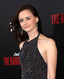 Alexis Bledel Photo - Photo by gotpapstarmaxinccomSTAR MAX2017ALL RIGHTS RESERVEDTelephoneFax (212) 995-119642517Alexis Bledel at the premiere of The Handmaids Tale in Hollywood CA