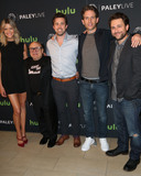 Charlie Day Photo - Photo by JMAstarmaxinccomSTAR MAXCopyright 2016ALL RIGHTS RESERVEDTelephoneFax (212) 995-11964116Cast members Kaitlyn Olson Danny DeVito Rob McElhenney Glenn Howerton and Charlie Day at the photocall for Its Always Sunny In Philadelphia during The Paley Center For Medias PaleyLive LA(Beverly Hills CA)