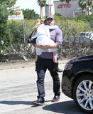 Ben Affleck Photo - Photo by EPARFstarmaxinccom2013ALL RIGHTS RESERVEDTelephoneFax (212) 995-11964613Ben Affleck and Violet Anne Affleck out and about(Los Angeles CA)
