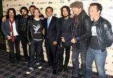 Franky Perez Photo - Billy Morrison Dave Navarro Matt Sorum Chris Chaney Franky Perez and Donovan Leitch Jr of the cover band Camp Freddy pose with the Mayor of Los Angeles Antonio Villaraigosa (C) at the Grand Opening of SBEs The Redbury Hotel in Hollywood Los Angeles CA 102010