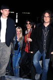 Aerosmith Photo - Sd0317 Saturday Night Live After-party at Guastivino New York City Joe Perry and Wife (Aerosmith) Photo Henry Mcgee  Globe Photos Inc
