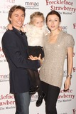 Irina Dvorovenko Photo - New York NY 10-01-2010ABT dancers Maxim Beloserkovsky Irina Dvorovenko and daughter Emma Galina at the opening night of Off-Broadways FRECKLEFACE STRAWBERRY THE MUSICAL based on Julianne Moores best-selling childrens book series at New World StagesDigital photo by Lane Ericcson-PHOTOlinknet