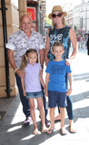 Aldo Zilli Photo - Aug 03 2014 - London England UK - The Unbeatables UK Premiere Vue West End Leicester SquarePhoto Shows Aldo Zilli and family