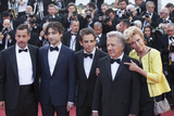 Adam Sandler Photo - CANNES FRANCE - MAY 21 (L-R) Actor Adam Sandler director Noah Baumbach actor Ben Stiller actor Dustin Hoffman and actress Emma Thompson of The Meyerowitz Stories attend the The Meyerowitz Stories screening during the 70th annual Cannes Film Festival at Palais des Festivals on May 21 2017 in Cannes France (Photo by Laurent KoffelImageCollectcom)