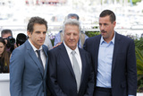 Adam Sandler Photo - CANNES FRANCE - MAY 21 (L-R) Actors Ben Stiller Dustin Hoffman and Adam Sandler attend the The Meyerowitz Stories Photocall during the 70th annual Cannes Film Festival at Palais des Festivals on May 21 2017 in Cannes France(Photo by Laurent KoffelImageCollectcom)