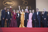 Agnes Jaoui Photo - CANNES FRANCE - MAY 23 (L-R) Jury members Will Smith Gabriel Yared Agnes Jaoui Park Chan-wook Jessica Chastain President of the jury Pedro Almodovar jury members Fan Bingbing Maren Ade Paolo Sorrentino and Director of the Cannes Film Festival Thierry Fremaux attend the 70th Anniversary of the 70th annual Cannes Film Festival at Palais des Festivals on May 23 2017 in Cannes France (Photo by Laurent KoffelImageCollectcom)