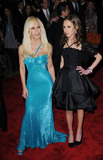 Allegra Beck Photo - Designer Donatella Versace and Allegra Beck arriving at The Model as Muse Embodying Fashion Costume Institute Gala at The Metropolitan Museum of Art on May 4 2009 in New York City