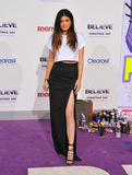 Kylie Jenner Photo - December 18 2013 LAKylie Jenner arriving at the premiere of  Justin Biebers Believe at Regal Cinemas LA Live on December 18 2013 in Los Angeles California