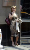 Essie Davis Photo - Matrix star Essie Davis spotted on Broadway New York May 12 2004