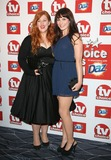 Lydia Bewley Photo - Lydia Bewley and Tamla Kari arriving for the 2011 TVChoice Awards at The Savoy London 13092011 Picture by Alexandra Glen  Featureflash
