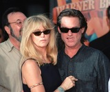 Goldie Photo - 30SEP99  Actress GOLDIE HAWN  actor partner KURT RUSSELL at Manns Chinese Theatre in Hollywood where Warner Bros chairmen  co-CEOs ROBERT A DALY  TERRY SEMEL had their hand  footprints set in cement Paul Smith  Featureflash
