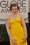 Lena Dunham Photo - Lena Dunham at the 71st Annual Golden Globe Awards at the Beverly Hilton HotelJanuary 12 2014  Beverly Hills CAPicture Paul Smith  Featureflash