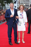 Adam Hills Photo - Adam Hills  mother at the UK premiere of Bad Education at the Vue Cinema August 20 2015  London UKPicture James Smith  Featureflash