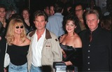 Goldie Photo - 21OCT98  Actress GOLDIE HAWN (left)  actor husband KURT RUSSELL with actor GARY BUSEY  wife at the Hollywood premiere of Soldier in which Russell  Busey star