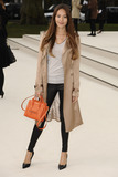 Jessica Michibata Photo - Jessica Michibata arriving for the Burberry Prorsum fashion show as part of London Fashion Week 2012 AW in Kensington Gardens London 20022012 Picture by Steve Vas  Featureflash