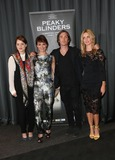 Sophie Rundle Photo - Sophie Rundle Helen McCrory Cillian Murphy and Annabelle Wallis arriving for the UK premiere of Peaky Blinders held at the BFI Southbank London 21082013 Picture by Henry Harris  Featureflash