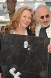 Faye Dunaway Photo - Faye Dunaway  director Jerry Schatzberg at the photocall for their movie Puzzle of a Downfall Child at the 64th Festival de CannesShe is pictured with the official poster for the Festival which features her photographMay 11 2011  Cannes FrancePicture Paul Smith  Featureflash